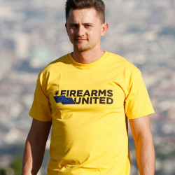 Firearms United Logo T-Shirt for Men