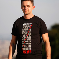 Je Suis Armé T-Shirt for Men