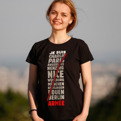 Je Suis Armée T-Shirt for Ladies