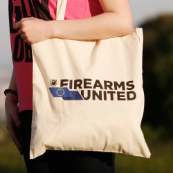 Firearms United Logo Shopping Bag Organic