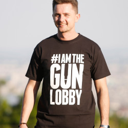 IAMTHEGUNLOBBY T-Shirt for Men